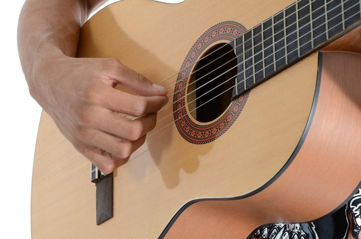 クラシックギターの練習